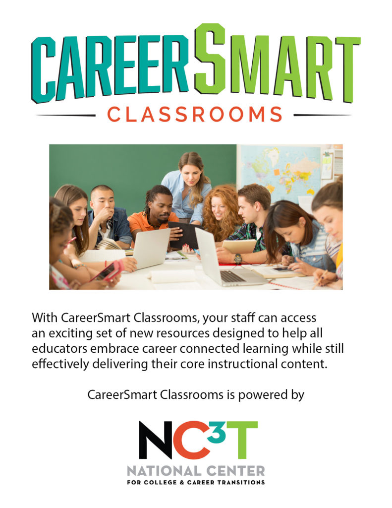 CareerSmart Classrooms Individual or Multi- Site Subscription